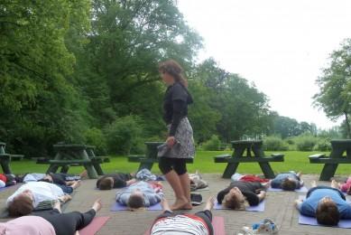 vergaderen yoga